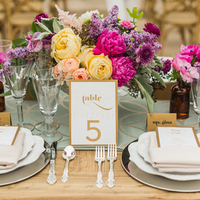 Stylish Head Table