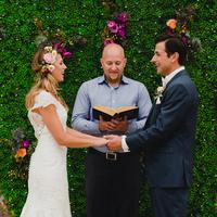 Art Center Wedding Ceremony