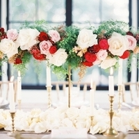 Romantic Glam Centerpiece