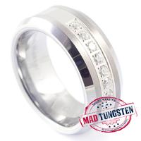 silver gray #tungsten #rings