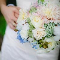 Kim's Bridal Bouquet
