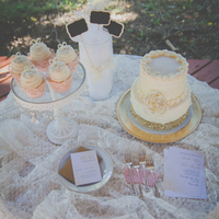 Shabby Chic Dessert Display
