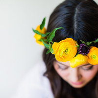 DIY: Ranunculus Flower Crown