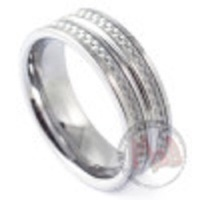 #ROULETTE Tungsten Rings