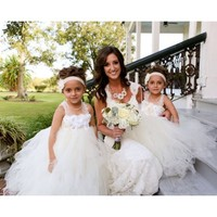 Four kinds of flower girl dresses selection