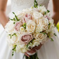 Sarah's Bridal Bouquet