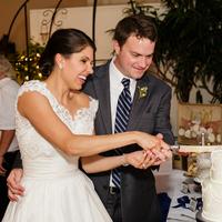Sarah and Jacob Cutting the Cake