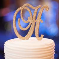 Glam Glitter Cake Topper