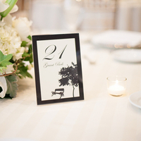 Chicago Themed Table Numbers