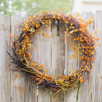DIY: Bittersweet Wreath