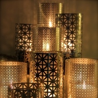 DIY: Candle Luminary Centerpieces