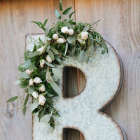 Zinc and Eucalyptus Monogram