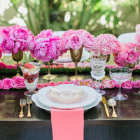 Hot Pink Tablescape