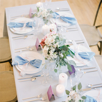 Pastel Blue Tablescape
