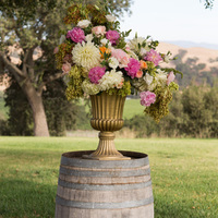 Dahlia and Peony Arrangement