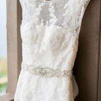 Traditional Wedding Dress with Sash