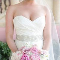 Glam Wedding Sash