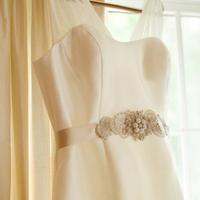 Beaded Wedding Sash