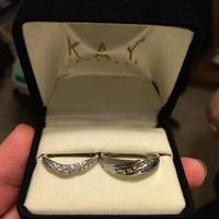 our wedding bands xo