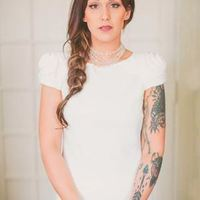 Mod Bride with Tattoos