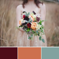 10 Fabulous Fall Wedding Color Palettes