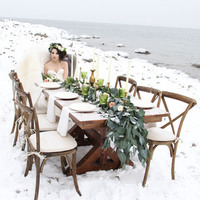 Rustic Winter Tablescape