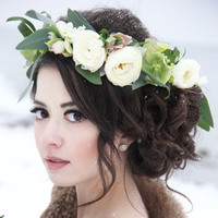 Ranunculus Floral Crown