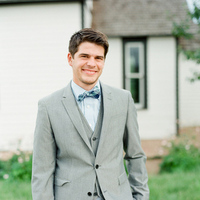 Classic Gray Groom Suit