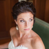 Bride with Freckles