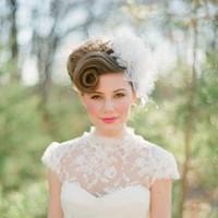 Retro Romantic Wedding Makeup