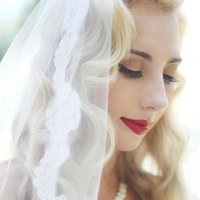 Vintage Bride with Veil