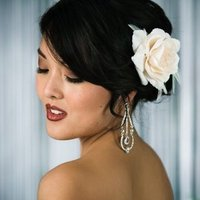 Glam Winter Wedding Makeup