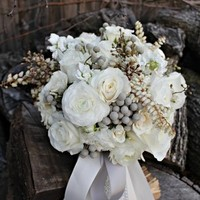 White and Grey Bouquet
