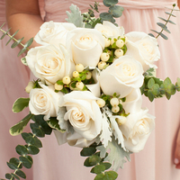 Rose and Eucalyptus Bouquet