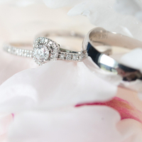 Kimberly and Jeremy's Rings