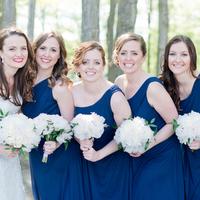 Kimberly and her Bridesmaids