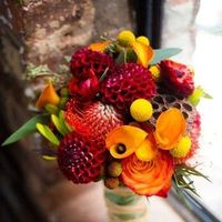 autumn bouquet colors and styles