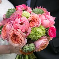Julia's Bridal Bouquet