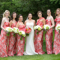 Julia and her Bridesmaids