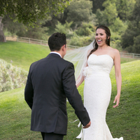 Julia and Simon's First Look