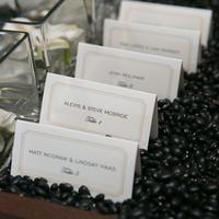 Bean Escort Card Display