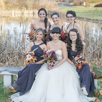 Liz and her Bridesmaids