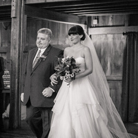 Liz Walking Down the Aisle