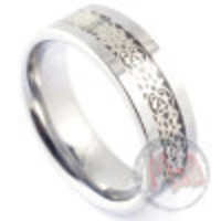 Mad Tunsgten Australia offers #Knowledge tungsten rings for men
