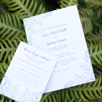 Loryn and Zach's Invitations