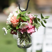 Garden Style Aisle Markers