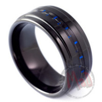 Over Boost Men's Tungsten Rings