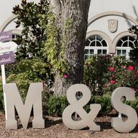 M & S Monogram Letters