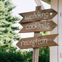 brown, Rustic Weddings, Wedding signs, wedding flowers & decor, wedding direction signs