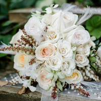 Amy's Bridal Bouquet
